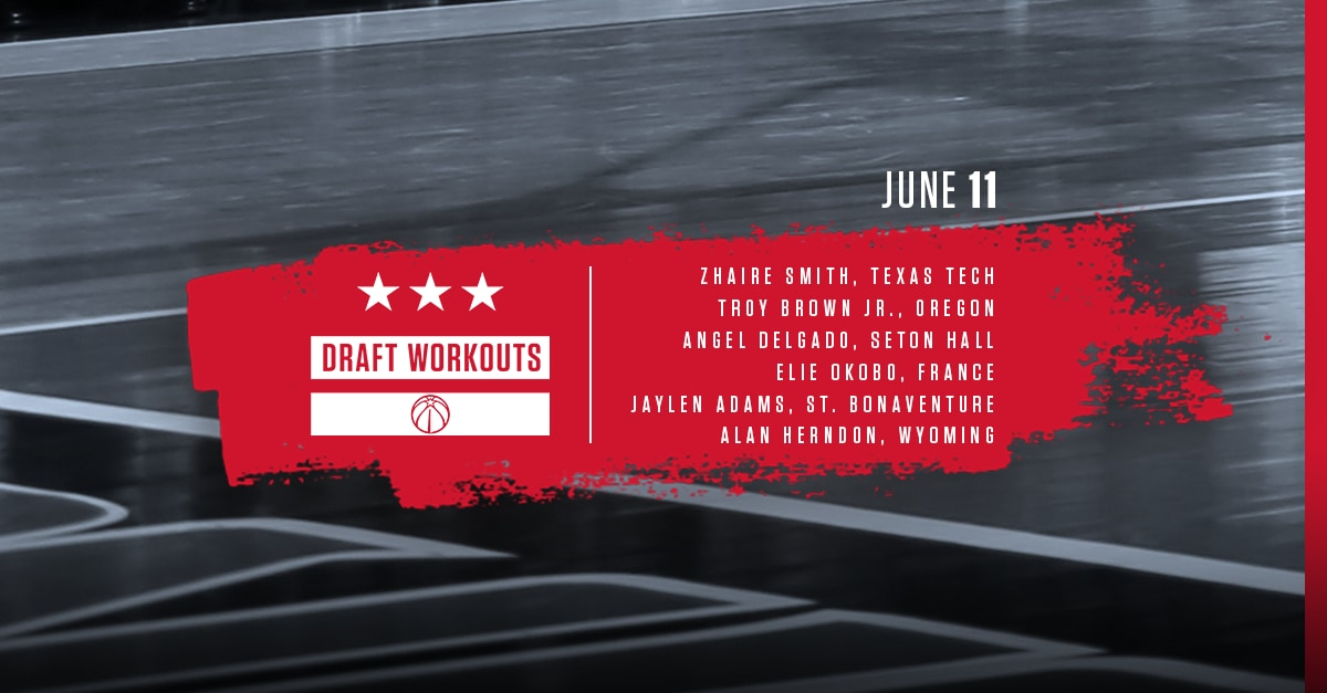 Wizards Draft Workouts - 61118